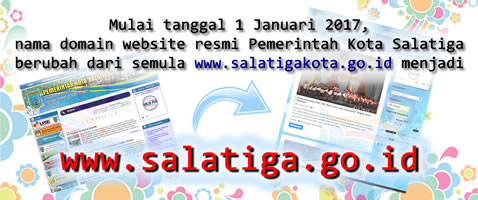 Domain website baru: www.salatiga.go.id